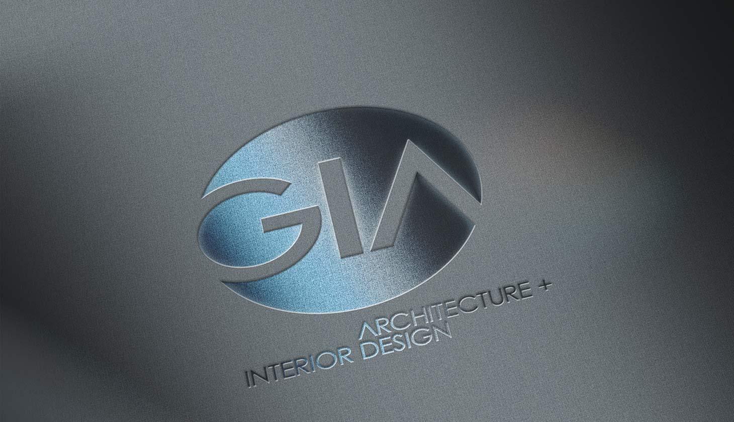 GIA embossed logo