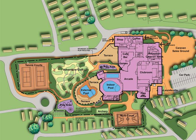 Master planning - site plan