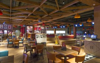 Restaurant Bowling Centre Design