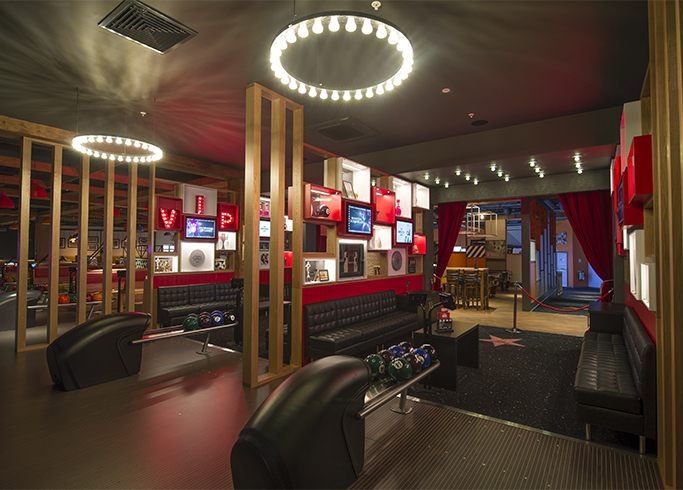 Hollywood Bowling Centre design VIP