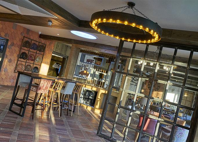 bar design, Lincolnshire, lighting