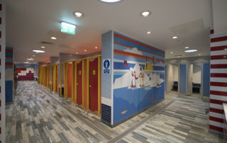 Pool Design Changing Rooms