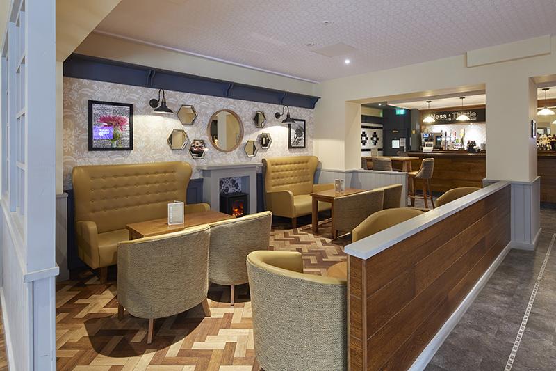 Inverness bar design lounge
