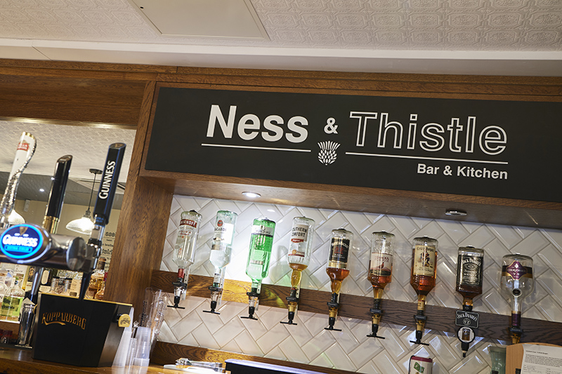 Inverness Bar design bar