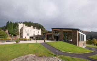 Drimsynie new building